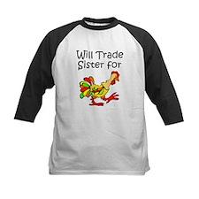 Trade Sister for Chicken Baseball Jersey