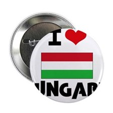 "I HEART HUNGARY FLAG 2.25"" Button"