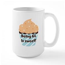 Cupcake Sweet 65th Birthday Mug