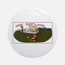 "Home Sweet ""Redneck"" Home Ornament (Round)"