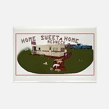 "Home Sweet ""Redneck"" Home Rectangle Magnet"