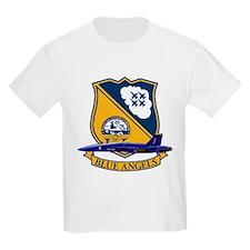 F-18 Blue Angels Kids T-Shirt