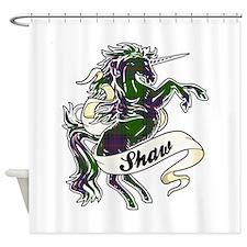 Shaw Unicorn Shower Curtain