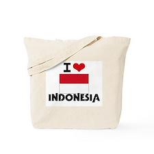 I HEART INDONESIA FLAG Tote Bag