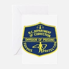 NC Corrections Greeting Cards (Pk of 10)