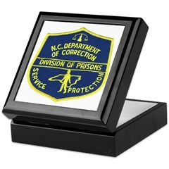 NC Corrections Keepsake Box