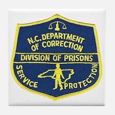 NC Corrections Tile Coaster