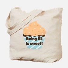 Cupcake Sweet 85th Birthday Tote Bag