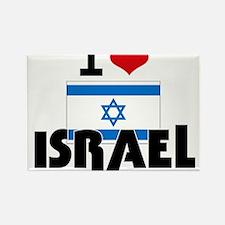 I HEART ISRAEL FLAG Rectangle Magnet