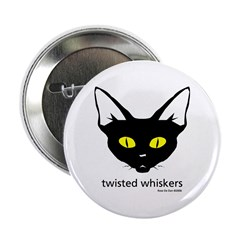 Twisted Whiskers Button