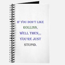 Rollins - Youre Stupid Journal