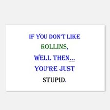 Rollins - Youre Stupid Postcards (Package of 8)