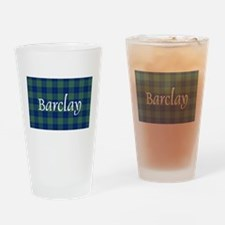 Tartan - Barclay Drinking Glass
