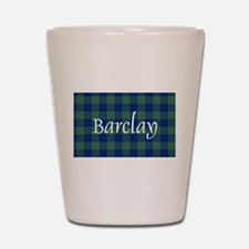 Tartan - Barclay Shot Glass