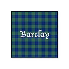 """Tartan - Barclay Square Sticker 3"""" x 3"""""""