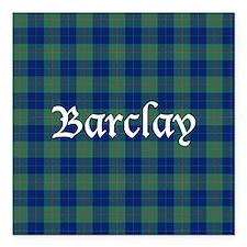 "Tartan - Barclay Square Car Magnet 3"" x 3"""