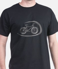 Awesome chrome swoop logo T-Shirt