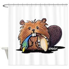 Beaver Lover Shower Curtain