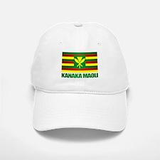 Kanaka Maoli Flag Baseball Cap