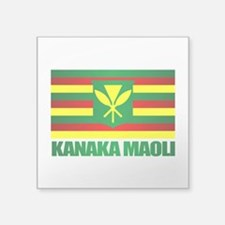 Kanaka Maoli Flag Sticker