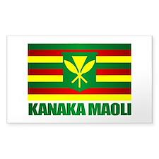Kanaka Maoli Flag Decal