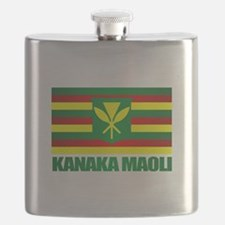 Kanaka Maoli Flag Flask