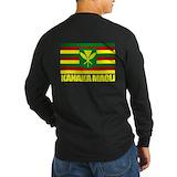 Kanaka maoli Long Sleeve T-shirts (Dark)