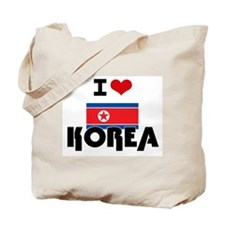 I HEART KOREA FLAG Tote Bag