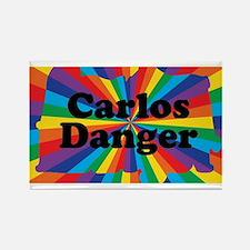 Carlos Danger Rectangle Magnet