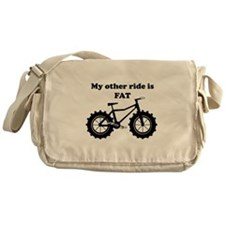 My other ride is FAT Messenger Bag