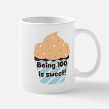 Cupcake Sweet 100 Birthday Mug