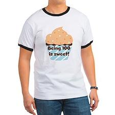 Cupcake Sweet 100 Birthday T-Shirt