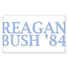 Reagan Bush '84 Decal