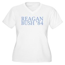Reagan Bush '84 Plus Size T-Shirt