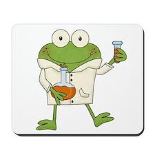 Frog Scientist Mousepad
