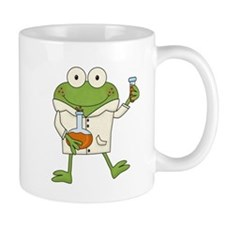 Frog Scientist Mug