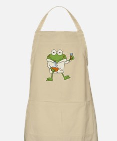 Frog Scientist Apron