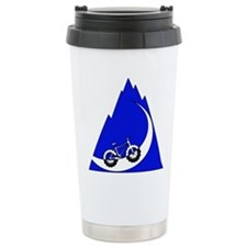 Fat Bike Mountain no words Travel Mug