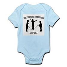 Skipping School Infant Bodysuit
