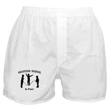 Skipping School Boxer Shorts