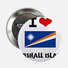 """I HEART MARSHALL ISLANDS FLAG 2.25"""" Button"""