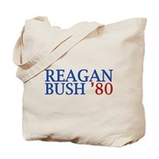 Reagan Bush '80 Tote Bag