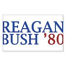 Reagan Bush '80 Decal