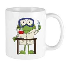 Frog in Science Lab Mug