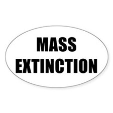 MASS EXTINCTION BK Decal