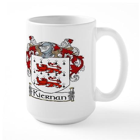 Kiernan Coat of Arms Large Mug