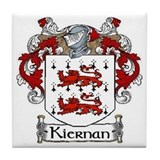 Kiernan coat of arms Drink Coasters