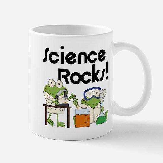 Frogs Science Rocks Mug