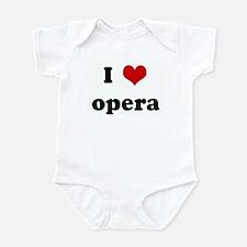 I Love opera Onesie