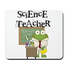 Frog Science Teacher Mousepad